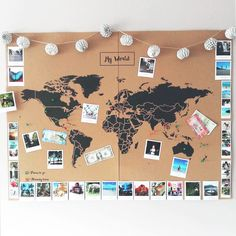 Mapamundi de Corcho – Mapa Político Mundo – Woody… – Cork World Map – World Political Map – Woody … – map Related posts: Polaroid-Foto-Weltkarte – – Do it yourself: make a mosaic world map out of color … Travel Room Decor, Diy Home Decor Bedroom, Bedroom Wall, Diy Room Decor Tumblr, Travel Bedroom, World Map Decor, World Map Wall Art, World Maps, Diy Wanddekorationen