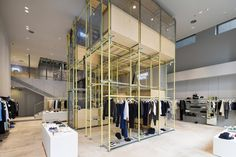 En Route store by Schemata Architects, Ginza   Japan fashion