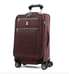fafb2634fbd TravelPro Platinum Elite 409186109 is a deluxe expandable carry-on bag with rotating  spinner wheels and an