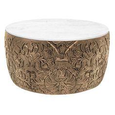 Florence Broadhurst Sydney Mod Hand Carved Coffee Table