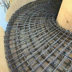 The curved stairs are always very decorative and fascinating part of any construction, but very difficult to be made. Those stairs needs more space for having natural steps up and down (Various Type of Formwork for Curved Concrete Stairs).