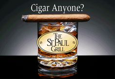 Dessert & Cigars in Rice Park, Hosted by The St. Paul Grill, on Sept. 18