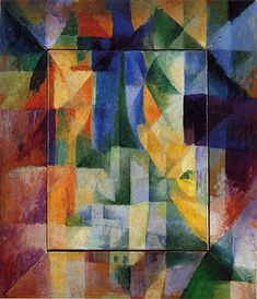 Delaunay: Simultaneous Windows on the City, 1912, Orphism