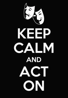 Acting - go Kendra!