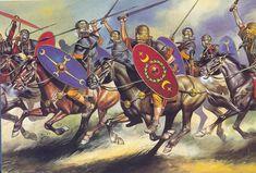 Roman Auxiliary Cavalrymen, 2nd Century AD.