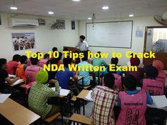 Top 10 tips how to crack NDA WRITTEN EXAM 2015  https://www.ncaacademy.com/top-10-tips-how-to-crack-nda-written-exam-2015/