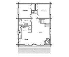 base camp log home floor plan main floor