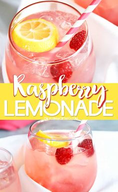 Lemonade Cool & refreshing Raspberry Lemonade is simple to make & delicious. Perfect for summer parties or when you need a cool down while chillin' poolside. Cool & refreshing Raspberry Lemonade is simple to make & delicious. Perfect f. Limoncello Cocktails, Vodka Cocktails, Alcoholic Drinks, Beverages, Raspberry Lemonade Cupcakes, Homemade Lemonade Recipes, Summer Drink Recipes, Cocktail Recipes, Dinner Recipes