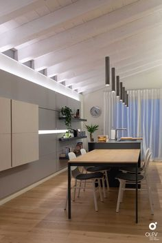 Decorative Room Dividers, Apartment Layout, Creative Home, Terrazzo, Style At Home, Home And Living, Lighting Design, My Dream Home, Construction
