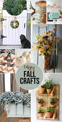 Easy Fall Crafts Any