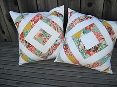 Quilted Pillows Using Fandango