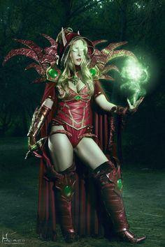 World of Warcraft cosplay: Valeera Sanguinar