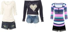 """""""cute summer day or mall day outfits"""" by loustar21 on Polyvore"""