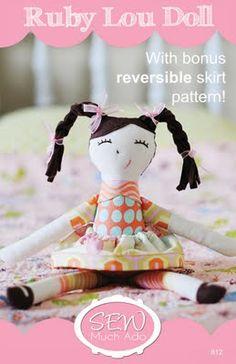 Ruby Lou Doll Pattern