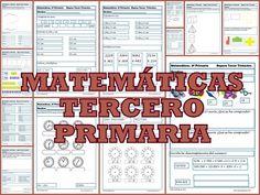 Ejercicios de matemáticas tercero primaria Repasamosla terceraevaluaciín de matemáticas tercero primaria , niños de 8-9 años.Repasaremos los Números, unidades, decenas,