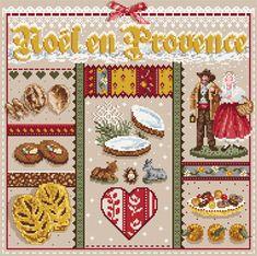 Madame la Fee, Noel en Provence, схема для вышивания крестом, купить…