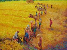 Harvest day by awijaya17 on deviantART
