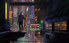 Futuristic city, Pantelis Politakos on ArtStation at https://www.artstation.com/artwork/Wg3lQ