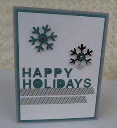 November 2014 Paper Pumpkin- Simply Snowflakes : Diane's Blog