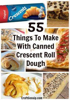 Sausage Crescent Rolls, Chicken Crescent Rolls, Crescent Roll Pizza, Cream Cheese Crescent Rolls, Crescent Roll Breakfast Casserole, Crescent Dough, Nutella Crescent Rolls, Crescent Roll Cheesecake, Cresent Rolls