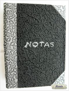 Agenda notas Bookbinding http://petry.es/category/manolo/encuadernacion/