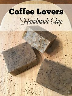 Do you LOVE coffee? Need that jolt of caffeine to get you moving in the morning? Did you know that your skin loves coffee too? Coffee is a great source of antioxidants. Washing with a coffee soap h… Diy Savon, Coffee Soap, Coffee Coffee, Coffee Scrub, Coffee Break, Morning Coffee, Diy Beauté, Natural Coffee, Soap Making Supplies