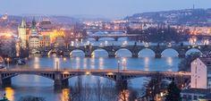 Jak se měnila Praha je možné vidět na mapách z roku 1842 až do současnosti.
