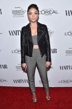 Pin for Later: Si Vous Pensiez Que les Oscars Étaient Glam, Attendez de Voir Ces Looks Sarah Hyland