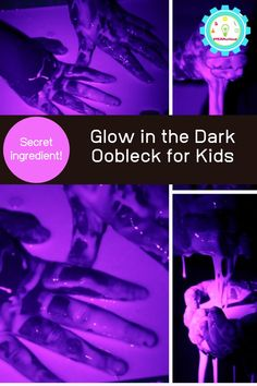 how to make oobleck Easy Science Projects, Easy Science Experiments, Science For Kids, Halloween Science, Halloween Kids, How To Make Oobleck, Slime Experiment, Stem Activities, Glow