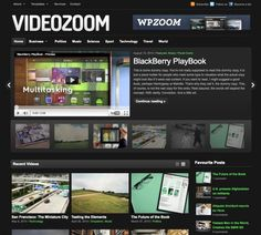 Videozoom is an elegant theme with a neat featured slider, which is ready to play any videos you want to embed into your posts.