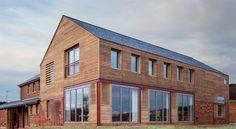Casa marcos de madera / A-ZERO architects