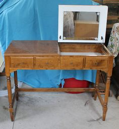 Create Photo Gallery For Website Ethan Allen CRP One Drawer Vanity Maple Birch on eBay