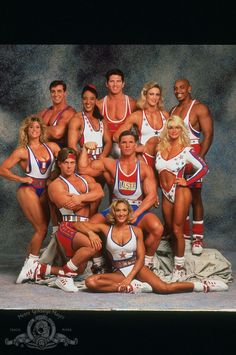 American gladiators!!!! I loves that show!