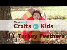 Help your child make these DIY turkey wings for some Thanksgiving Day imaginary play!