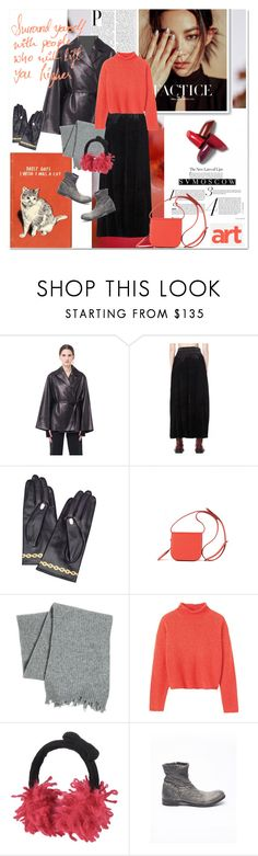 """""""Bring it to me - Svmoscow11"""" by undici ❤ liked on Polyvore featuring GUINEVERE, The Row, Share Spirit, Undercover, Maison Margiela, MSGM, Toast, RED Valentino and Isaac Sellam"""