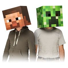 You'll find several Homemade Minecraft Costume Ideas that are simple to make. Save time and money making your own costume at home this year.