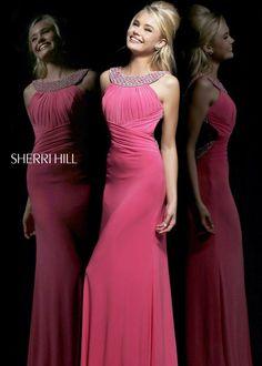 Sherri Hill 11025 Strawberry Sparkle Dress