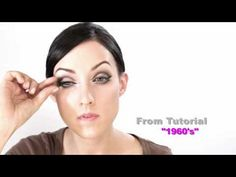 Vintage Makeup Tutorials - Iconic looks of the 20s - 50s - 60s - 70s - and 80s - Promo - YouTube