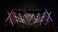 장범준-1213 Stage Lighting Design, Stage Set Design, Church Stage Design, Corporate Design, Event Design, Concert Stage Design, Concert Lights, Club Design, Video Wall