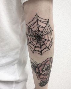 55 Likes, 0 Comments - Black Raccoon Tattoo Knee Tattoo, Elbow Tattoos, Arm Tattoo, Body Art Tattoos, Sleeve Tattoos, Cool Tattoos, Spider Web Tattoo Elbow, Spooky Tattoos, Gothic Tattoo