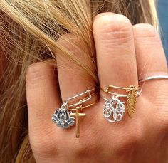 Loving these #Providence Collection stack-able rings! Alex And Ani Rings, Alex And Ani Bangles, Alex And Ani Jewelry, Alex Ani, Pandora Bracelets, Bangle Bracelets, Cute Jewelry, Jewelry Accessories, Jewelry Ideas