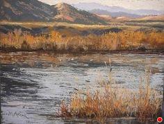 Chupadera Morning by Margi Lucena Pastel ~ 11 x 14