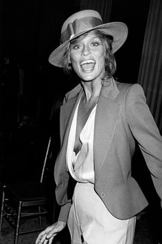 What Your Favorite Celebs Looked Like...40 Years Ago #refinery29  http://www.refinery29.com/ron-galella-celebrity-paparazzi-photos#slide-9  Lauren Hutton, 1979. ...