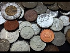Valuable Canadian Coins you can find in your Pocket Change/Coin Jar! Money Mart, Coin Jar, Money Change, Coins Worth Money, Canadian Coins, Valuable Coins, Coin Worth, Coin Values, World Coins