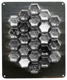 Non-magnetic fridge? Or, want spices on your backsplash or cabinet?This is a listing for the stainless steel wall plate. Jars NOT included! Holes are