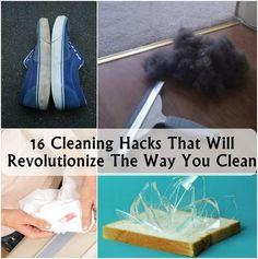 Cleaning Hacks You should try | www.FabArtDIY.com ༺✿Teresa Restegui http://www.pinterest.com/teretegui/✿༻