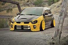 #Caliber w/ #Dodge #Neon #SRT front end #Custom #Modified #Camber #Slammed #Stance