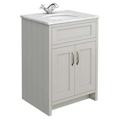 A traditional vanity unit will add a classic style to any bathroom. Find a wide range of wall mounted and floor standing traditional vanity units online. White Vanity Unit, Freestanding Vanity Unit, Bathroom Vanity Units, Gray Vanity, Modern Vanity, Bathroom Furniture, Bathroom Ideas, Bathroom Pics, Loft Bathroom