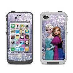 Lifeproof iPhone 4 Case Skin - Anna and Elsa