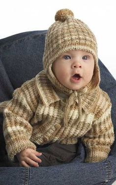 Suurenna kuva Knitting For Kids, Kids Hats, Rubrics, Winter Hats, Crochet Hats, Children, Boys, Curry Recipes, Fashion
